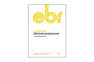 ESA Instruerad person